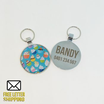 Cupcake Deluxe Pet Tag