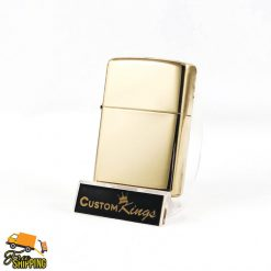 Polished Brass Zippo Lighter