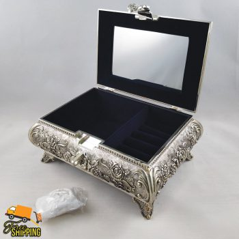 Queen Anne Large Jewellery Box
