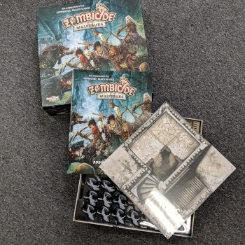 Zombicide Wulfsburg Expansion - Board Game Internal