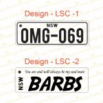 Licence Plate Designs