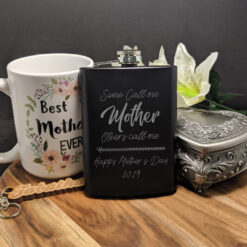 Mother's Day Flask