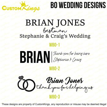 Wedding Bottle Opener Designs