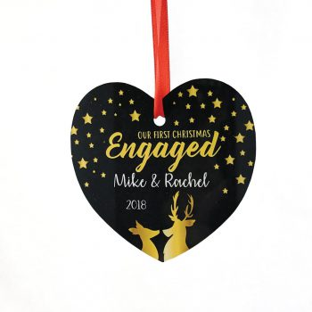 Printed-Engaged-Christmas-Ornament