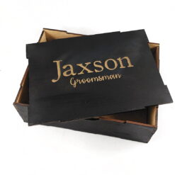 Black Timber Gift Box