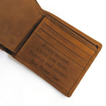 Every Second I love you Coffee Wallet
